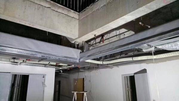 电动式柔性挡烟垂壁